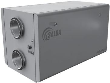 Вентиляционные агрегаты с рекуперацией тепла RIS H