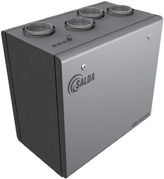 Вентиляционные агрегаты с рекуперацией тепла RIS V