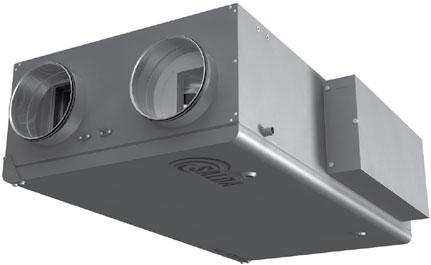 Вентиляционные агрегаты с рекуперацией тепла RIS P