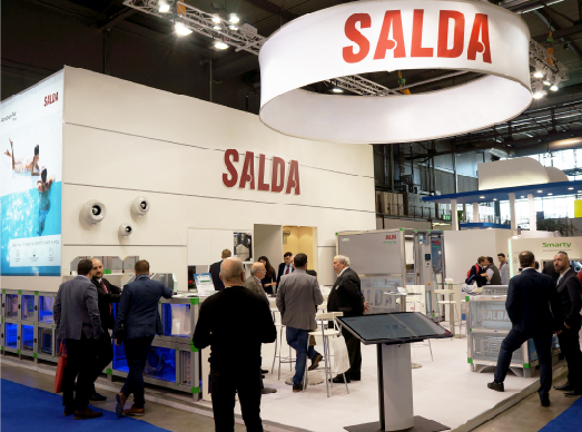SALDA на Международной выставке по вентиляции, кондиционированию и холодильному оборудованию MCE 2018